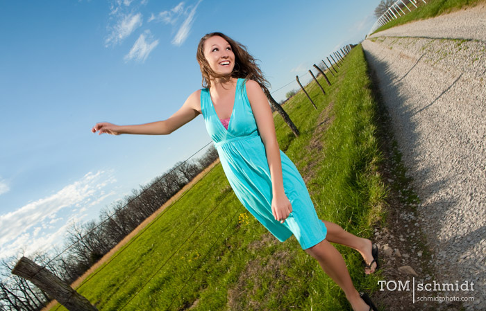 kansas city senior portrait, high school pictures, tom schmidt, outdoor picture
