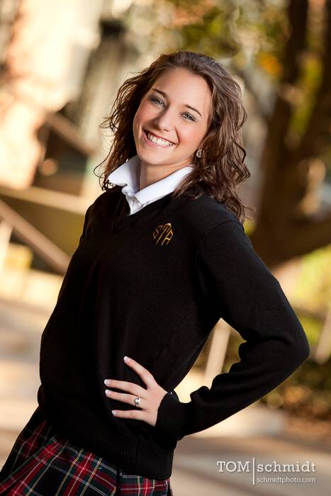 Kansas City Private School Senior Portraits